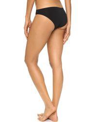 Calvin Klein - Black Pure Seamless Bikini Panties - Lyst