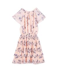 Shoshanna - Pink Ebony Dress - Lyst
