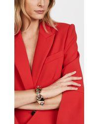 Alexis Bittar - Metallic Asymmetrical Bracelet - Lyst