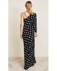 Michelle Mason - Black One Sleeve Gown - Lyst