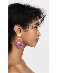 Lele Sadoughi - Pink Rio Earrings - Lyst