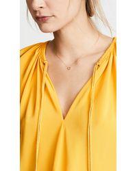 Blanca Monros Gomez - Metallic 14k Gold Rosalind Necklace - Lyst