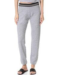 Monrow | Gray Vintage Sweatpants | Lyst