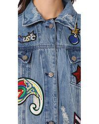 Etienne Marcel - Blue Julia Decorated Jacket - Lyst