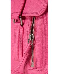 3.1 Phillip Lim - Pink Pashli Medium Satchel Shoulder Bag - Lyst