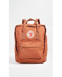 Fjallraven Red Kanken Backpack