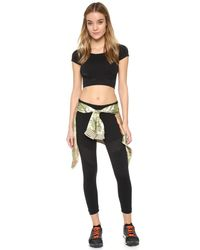 Phat Buddha - Black Soho Work Out Leggings - Lyst