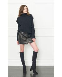 Rachel Zoe - Black Aribella Turtleneck Sweater - Lyst