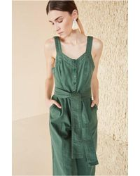 Ulla Johnson - Green Robbie Jumpsuit - Lyst