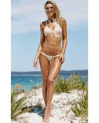Showpo - Natural Raya Bikini In Nude - Lyst