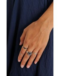 Showpo - Multicolor How To Dream Ring Set In Silver - Lyst