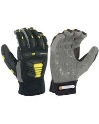 Carhartt - Gray Stronghold Hi-vis Gloves (for Men And Women) for Men - Lyst