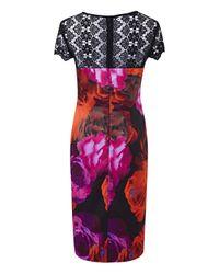Simply Be - Multicolor Joanna Hope Print Dress - Lyst