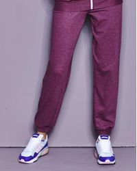 Simply Be - Purple Cuffed Pant - Lyst