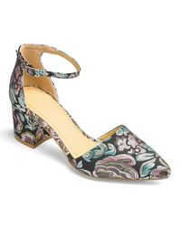 Simply Be - Multicolor Clio Pointed Block Heels - Lyst