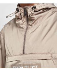 Napapijri - Brown Aumo Overhead Jacket for Men - Lyst
