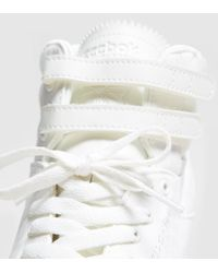 Reebok - White Hi Lux Textile Women's - Lyst