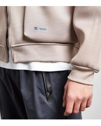 Adidas Originals - Gray Bldr Track Top for Men - Lyst