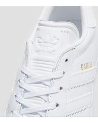 Adidas Originals - White Gazelle for Men - Lyst