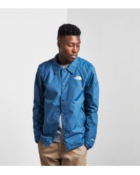 The North Face Coaches Jacket in Blue for Men Lyst