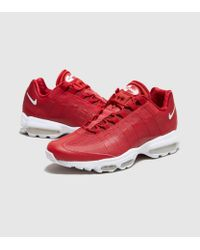 0e7d0c85f9d Lyst - Nike Air Max 95 Ultra Essential in Red for Men