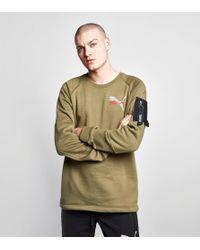 PUMA - Green X Trapstar Crew for Men - Lyst