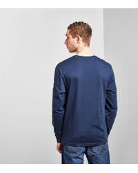 Columbia - Blue Long Sleeved T-shirt for Men - Lyst