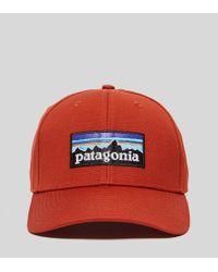 Patagonia - Red P6 Roger Cap for Men - Lyst