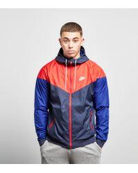 530943837 Nike Windrunner Jacket in Red for Men - Lyst