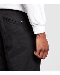 Obey - Black Straggler Pants for Men - Lyst