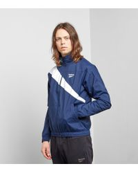 Reebok - Blue Classic Track Top for Men - Lyst