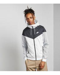 ebcfc17c56 Lyst - Nike Lightweight Windrunner Jacket in White for Men
