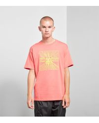 Obey - Pink Nothing T-shirt for Men - Lyst