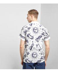 Huf - White Zodiac Shirt for Men - Lyst