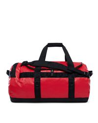 The North Face - Red Base Camp Duffle M Bag - Lyst