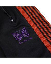 Needles - Multicolor Slam Jam Regular Track Pants - Lyst