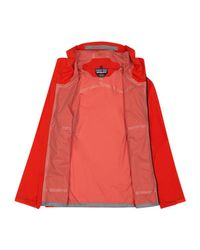 Patagonia - Red Stretch Rainshadow Jacket - Lyst