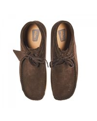 Clarks | Brown Wallabee Boots for Men | Lyst