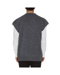 Jil Sander - Black Vest Knitwear for Men - Lyst