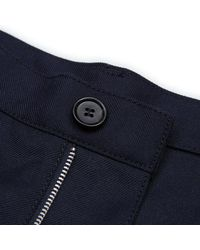 Comme des Garçons - Blue Gabardine Workstitch Pants for Men - Lyst
