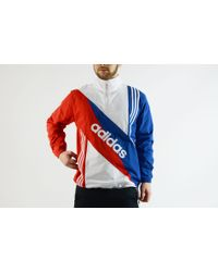 Lyst Adidas Originals Retro Linear Windbreaker for Men
