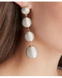 Sole Society - Multicolor Clover Crispin Drop Earrings - Lyst