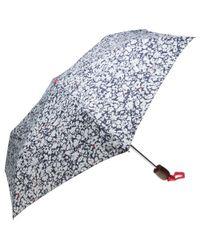 Joules | Blue Floral Umbrella | Lyst