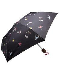 Joules - Black Brolly Dog Umbrella - Lyst
