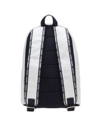 Tommy Hilfiger - White Logo Tape Mini Backpack - Lyst