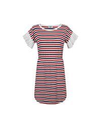 Sonia by Sonia Rykiel | Multicolor Tricolor Striped Dress | Lyst