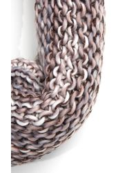 South Moon Under - Multicolor Multi Yarn Knit Scarf With Lurex - Lyst
