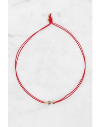 South Moon Under - Three Coins Red Bracelet - Lyst