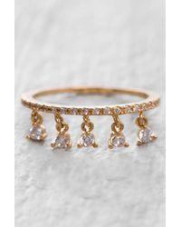 Tai - Metallic Rittichai Cz Ring With Small Charms - Lyst