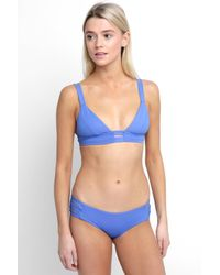 South Moon Under - Blue Neutra Bralette Bikini Top - Lyst